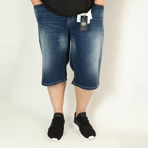 Drawstring Work Shorts - Black Camo