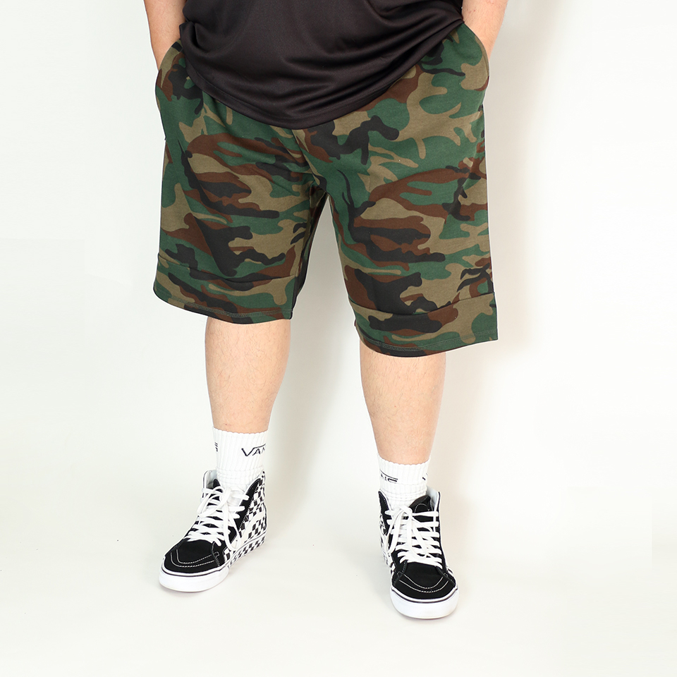 Long Heat Seal Zipper - Woodland Camo