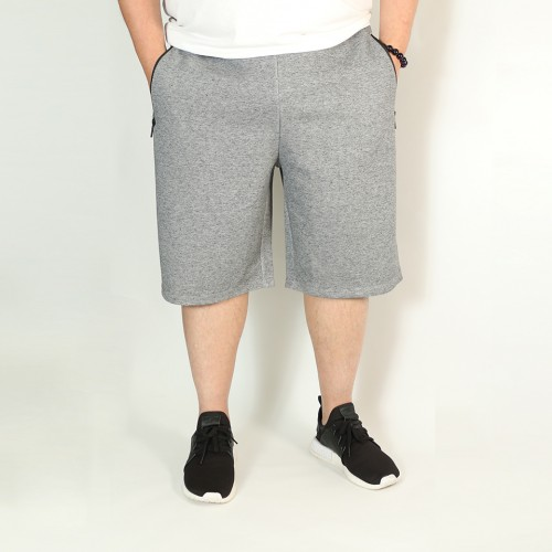 Pockets Simple Shorts - Heather Grey