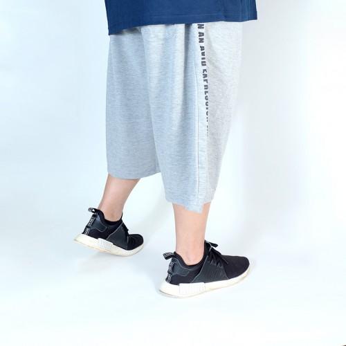 An Avid Expression Shorts - Grey