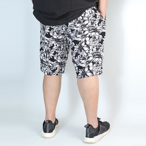 Casual Stretch Shorts - Flower
