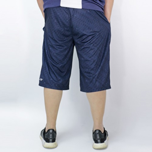 Dark Fringe Sports Shorts - Navy