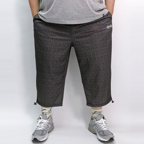 DRY Cropped Pants - Black Heather