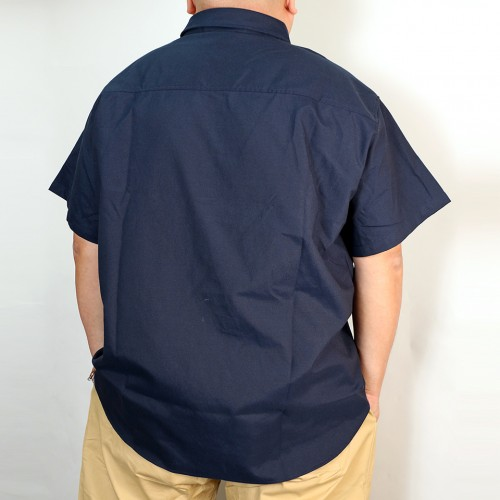 Oxford S/S Shirt - Navy