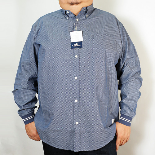 Sports Cuff Button Down - Ocean Deep