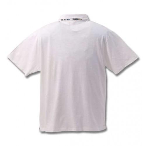 Slab Tenjiku Polo Shirt - White