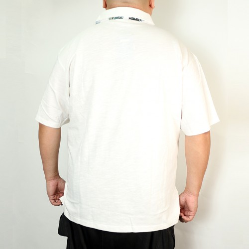Slab Tenjiku Polo Shirt - White