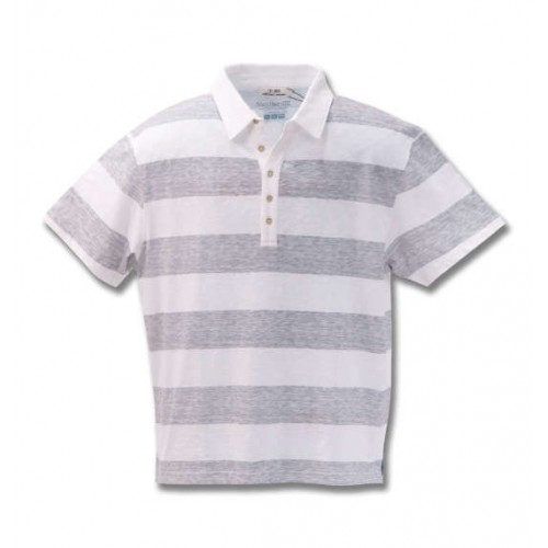 Five Buttons Polo Shirt - Grey