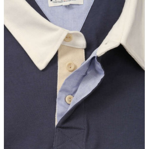 American Style Polo Shirt - Navy