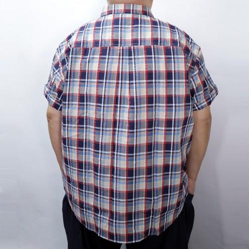 Checker Shirt - Red/Navy