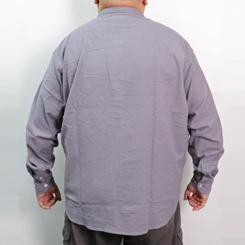 Solid Color Nell Shirt - Grey