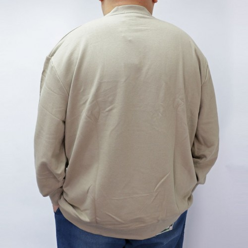 Centre Logo Sweater - Beige