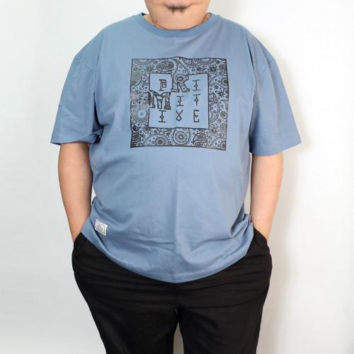 Paisley Totem Tee - Blue