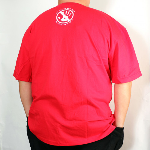Workaholic Tee - Red