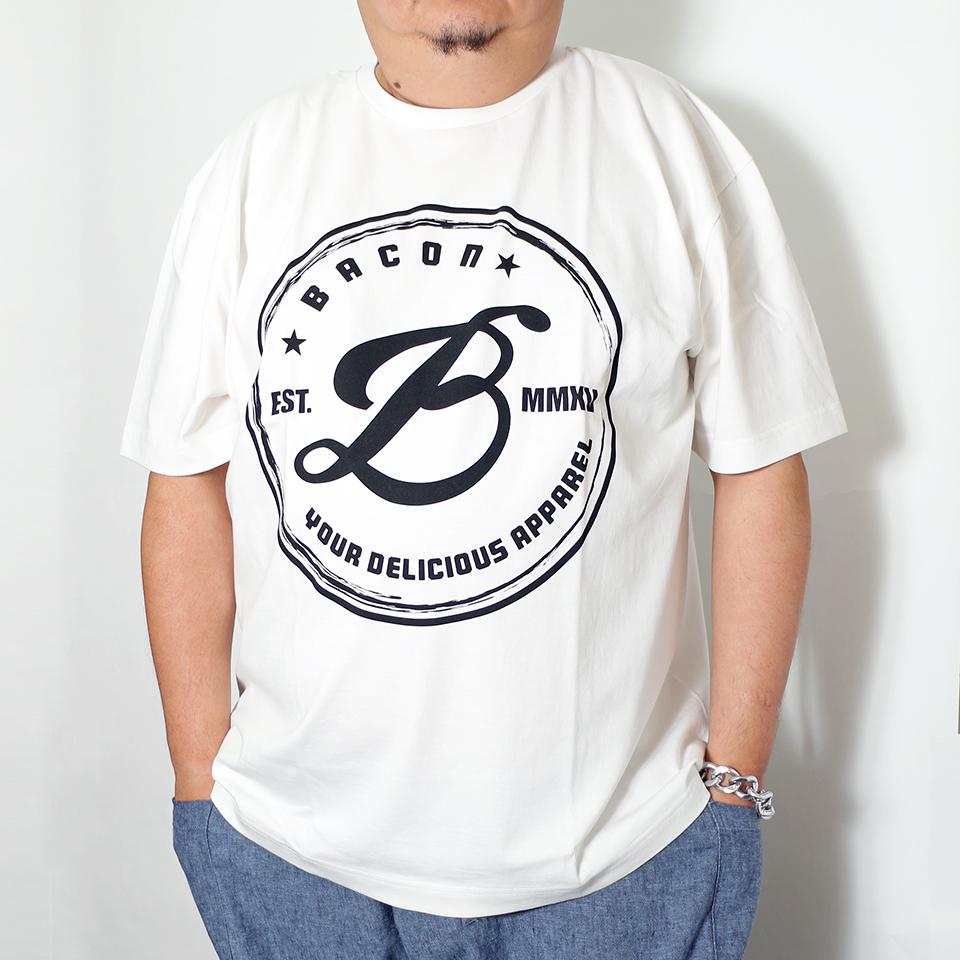 B. Badge Tee - White