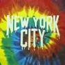 Tie-Dye New York City Tee - Black