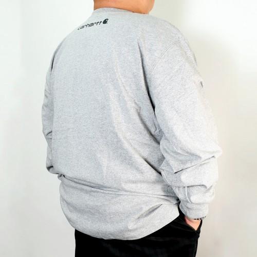 Original Fit Long Sleeve Tee - Grey
