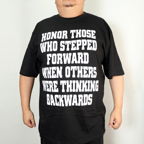Honor Those Graphic Tee - Black