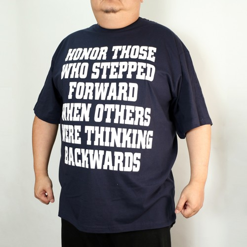 Honor Those Graphic Tee - Navy