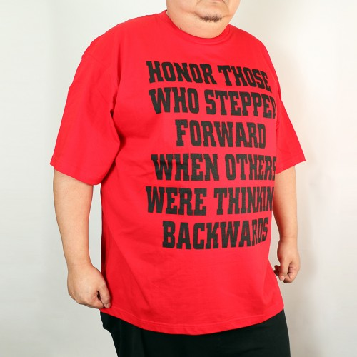 Honor Those Graphic Tee - Red
