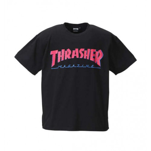 Magazine Short Sleeved Tee - Black
