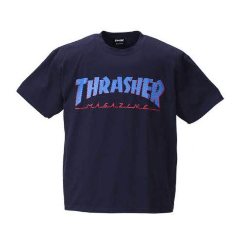 Magazine Short Sleeved Tee - Navy