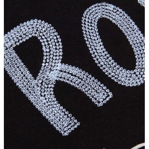 Chain Short Sleeve Tee - Black