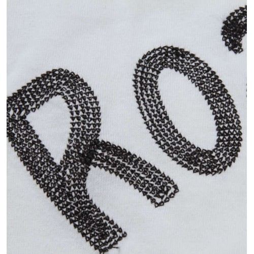 Chain Short Sleeve Tee - White