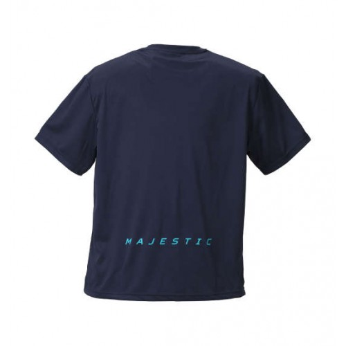 Underlined Short Sleeve Tee - Navy