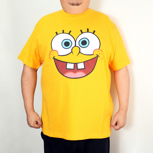 Big Head Tee - Yellow
