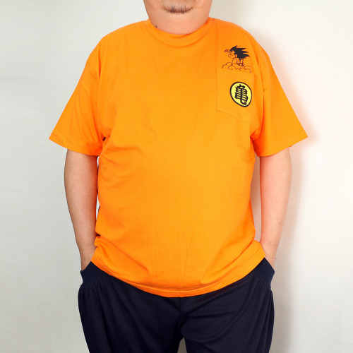 悟空 Pocket Tee - Orange