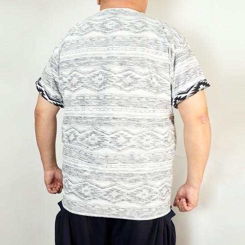 Back Print Tee - Grey