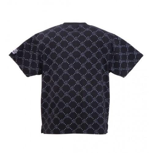 General Pattern Tee - Black