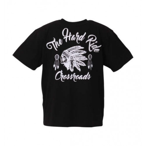 The Hard Ride Chain Embroidery - Black