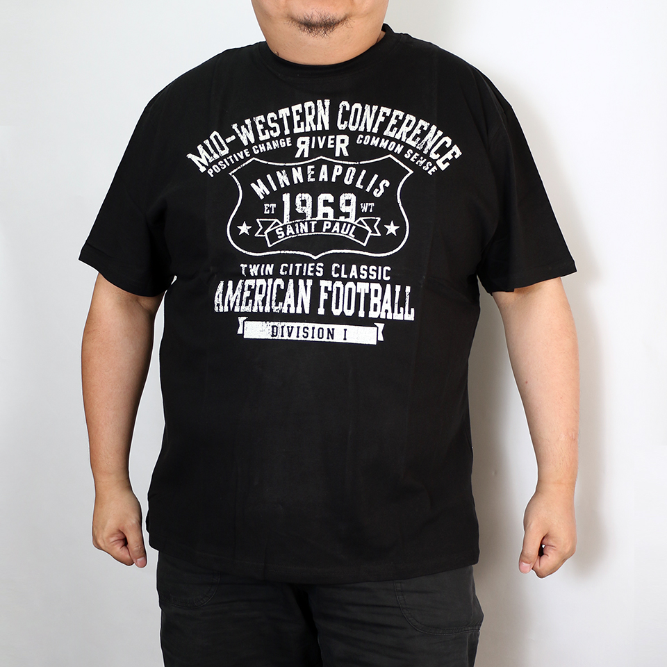 Mid-Western Conference Tee - Black