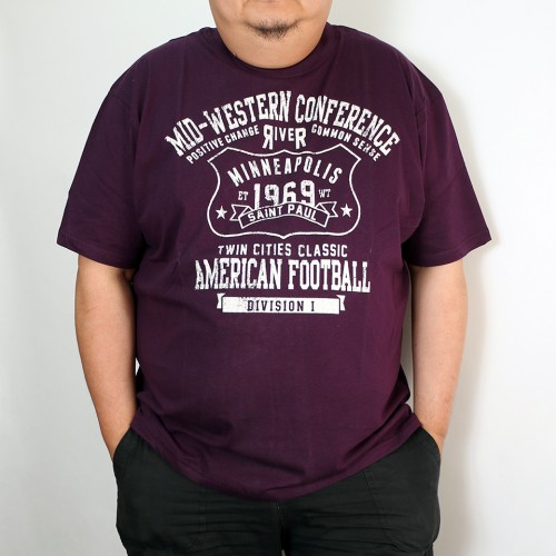 Mid-Western Conference Tee - Purple