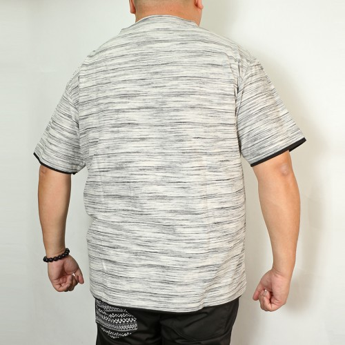 Fake Layered Henry Tee - White