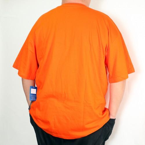 Retro Big C Centre Tee - Orange