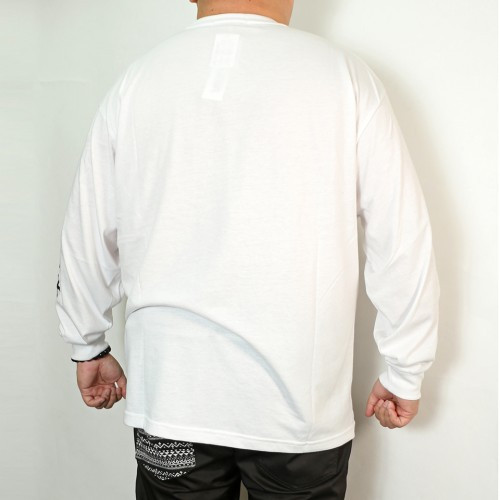 Feature Box Tee - White