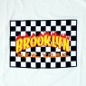 Brooklyn Fire Tee - White