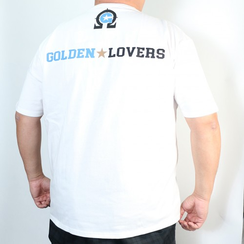 Golden Lovers Tee - White