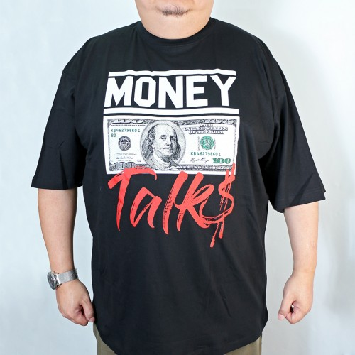 Money Talk Tee - Black