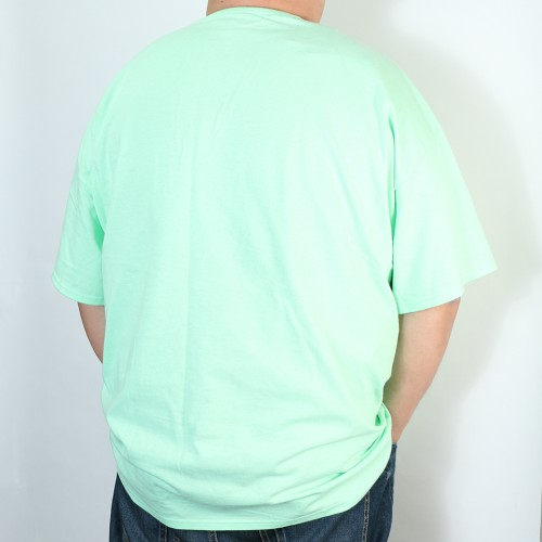Simple Script Logo Tee - Mint