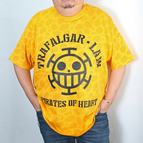 Pirates Of Heart Tee - Yellow