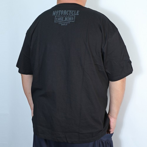 Backyard Motorcycle Tee - Black