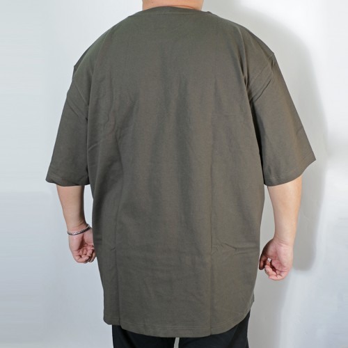Simple S/S Pocket Tee - Dark Green