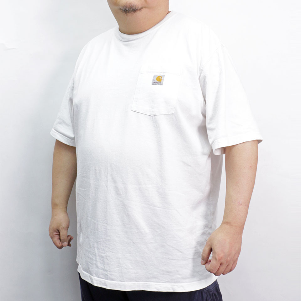 Simple S/S Pocket Tee - White