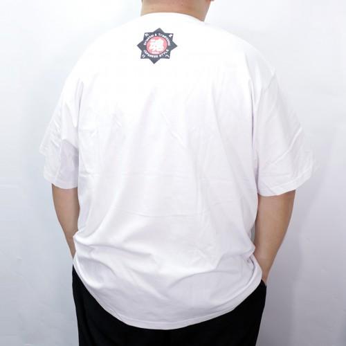 Hanafuda Bush-Warbler Tee - White