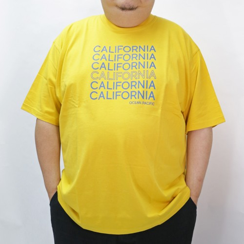 California Printed Tee - Yellow