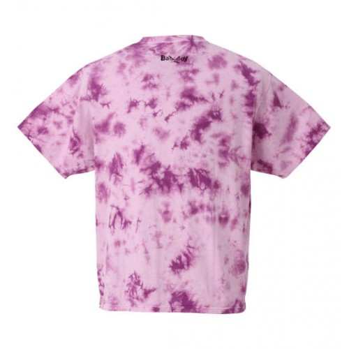 Bad Boy Tie-Dyed Tee - Purple